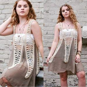 Tops - Luxury Handmade crochet tunic